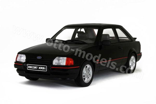 otto 1986 ford escort xr3i black ot568 in 1 18 scale mdiecast. Black Bedroom Furniture Sets. Home Design Ideas