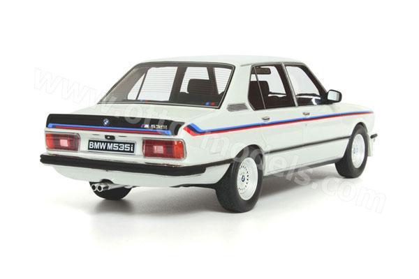 OttO: 1980 BMW M 535i (E12) - White (266) in 1:18 scale - mDiecast