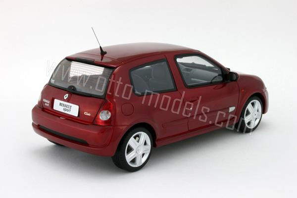 otto 2001 renault clio 2 rs phase 2 red ot026 in 1 18. Black Bedroom Furniture Sets. Home Design Ideas