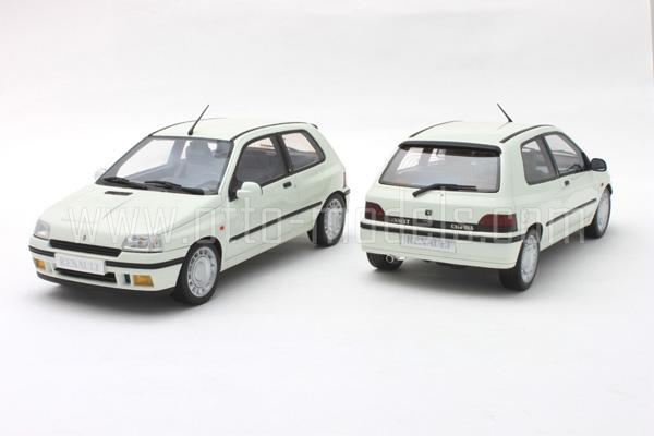 otto 1991 renault clio 16s phase 1 white ot525 in 1 18 scale mdiecast. Black Bedroom Furniture Sets. Home Design Ideas