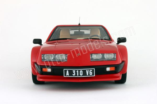 otto 1985 alpine a310 pack gt red ot528 in 1 18 scale. Black Bedroom Furniture Sets. Home Design Ideas