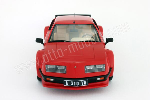 otto 1985 alpine a310 pack gt red ot528 in 1 18 scale mdiecast. Black Bedroom Furniture Sets. Home Design Ideas