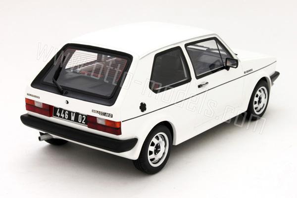 OttO: 1981 Volkswagen Golf Mk1 GTI 16S Oettinger - White (OT043) in 1:18 scale - mDiecast