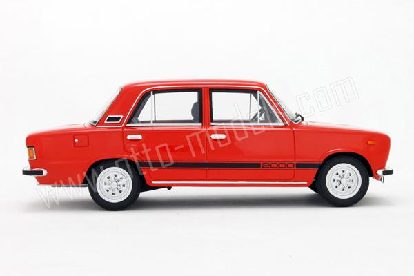 OttO: 1979 Seat 124 FL-90 2000 - Red (OT701) in 1:18 scale