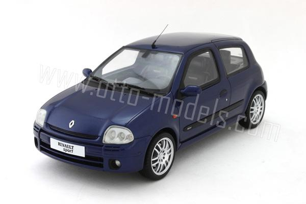 масштаб 1/18 renault clio rs
