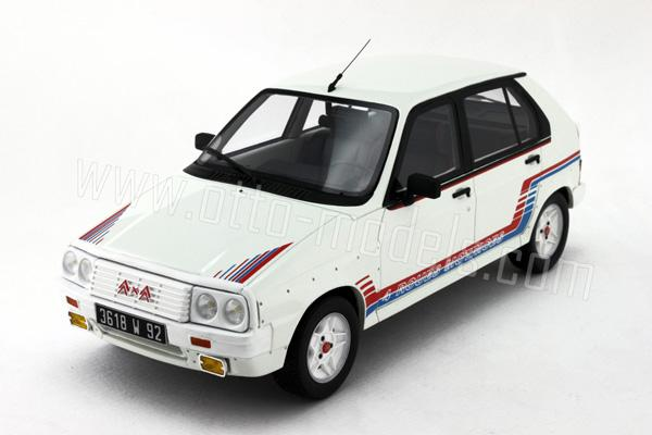 otto 1984 citroen visa 1000 pistes white ot522 in 1 18 scale mdiecast. Black Bedroom Furniture Sets. Home Design Ideas
