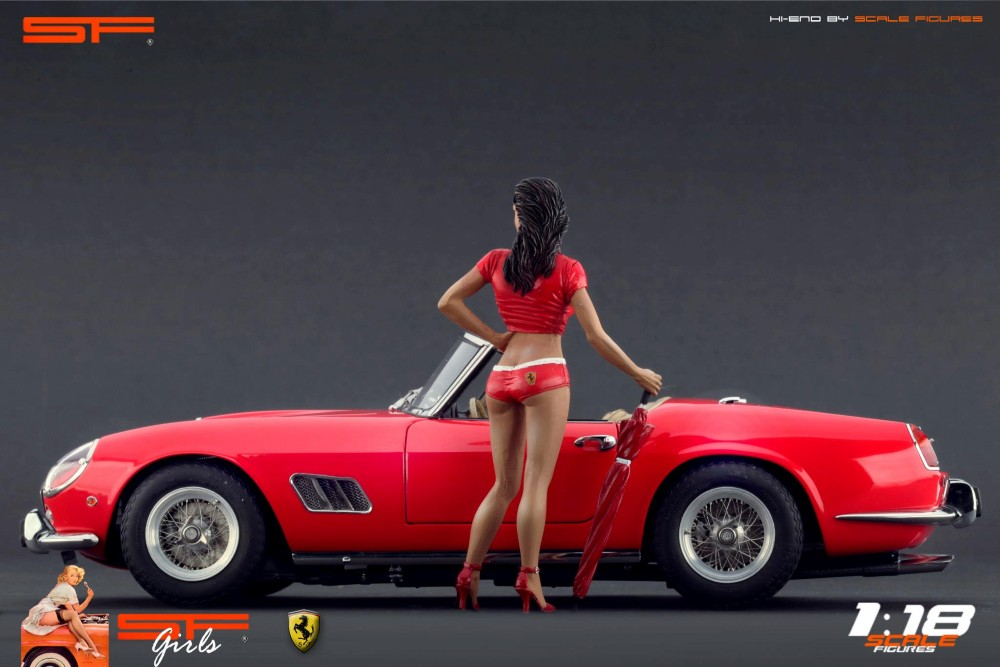 Laura Dominica Garello Ferrari Scale Figures Enzo Ferrari
