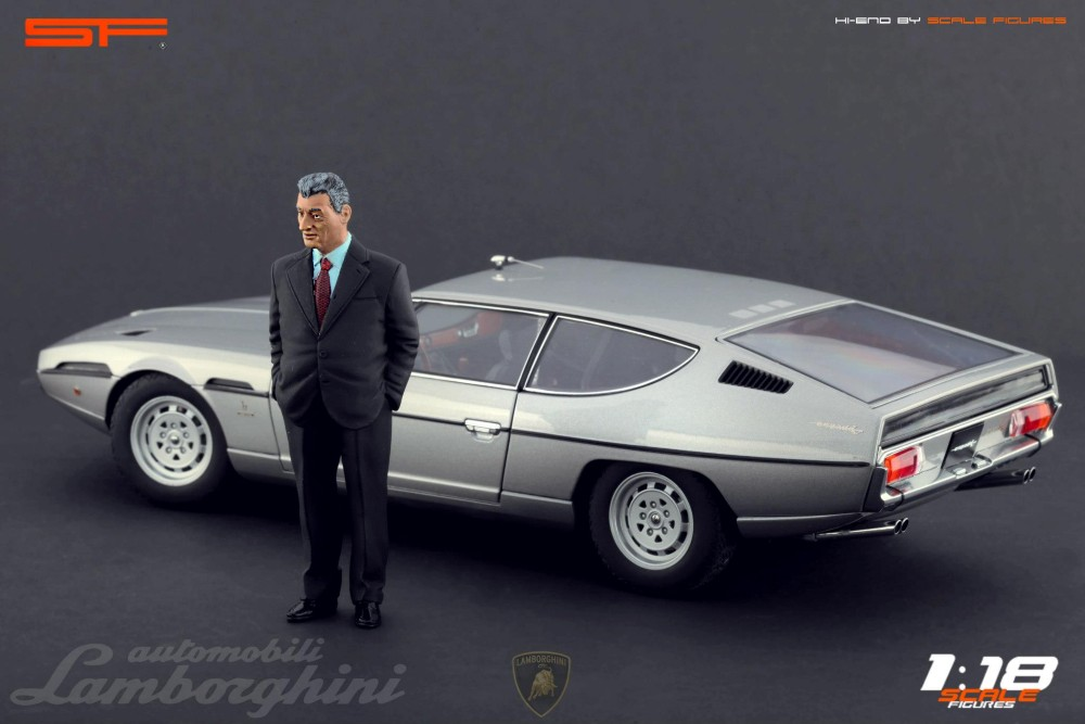 Scale Figures Ferruccio Lamborghini Figure Sf118025 In