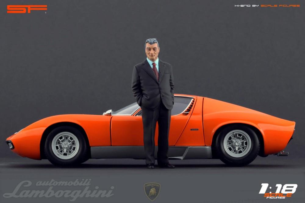 Scale Figures Ferruccio Lamborghini Figure SF118025 In