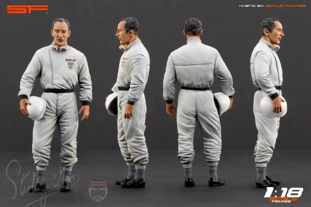Scale Figures: Stirling Moss Figure (SF118027) in 1:18 ...