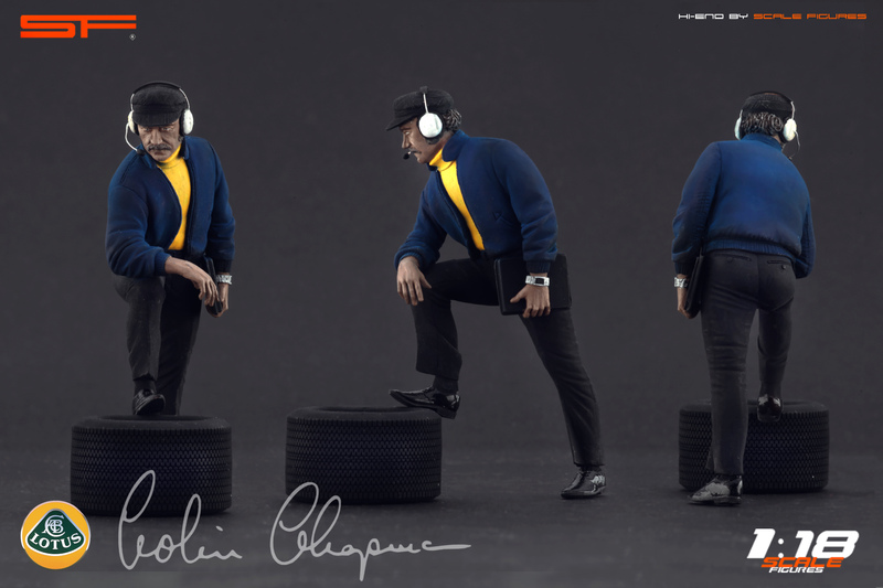 Scale Figures: Anthony Colin Bruce Chapman Figure in 1:18 ...