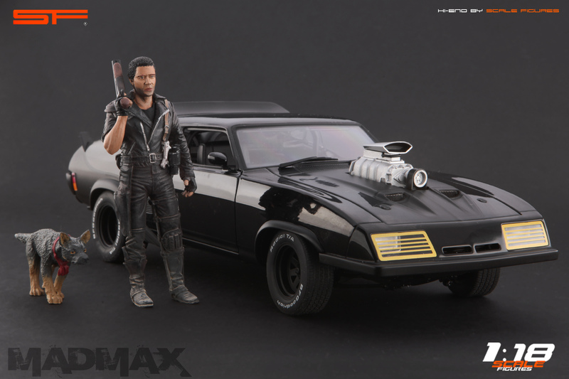 Scale Figures: Mad Max Figure in 1:18 scale