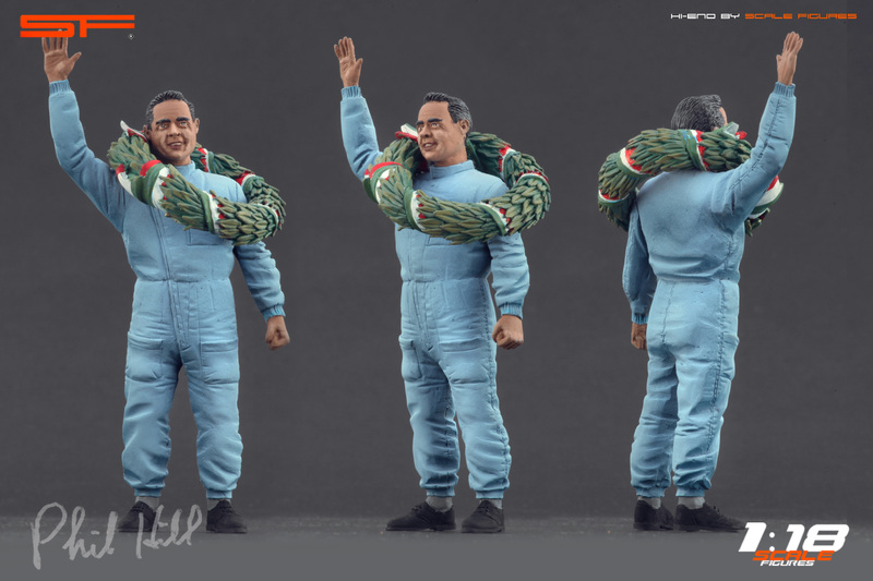 List Of Car Brands >> Scale Figures: Phil Hill Figure in 1:18 scale - mDiecast