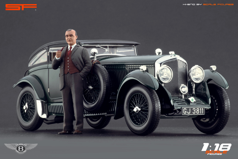 Scale Figures: W. O. Bentley Figure в 1:18 масштабе