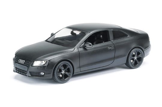 schuco audi a5 coupe concept matt black 450485500 in. Black Bedroom Furniture Sets. Home Design Ideas