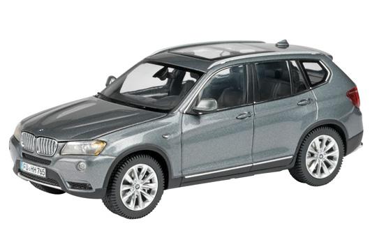 Bmw 3 2018 >> Schuco: BMW X3 - Space Grey Metallic (450744600) in 1:43 ...