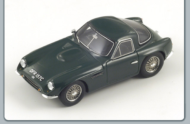 spark 1965 tvr griffith 200 dark green s0228 in 1 43 scale mdiecast. Black Bedroom Furniture Sets. Home Design Ideas