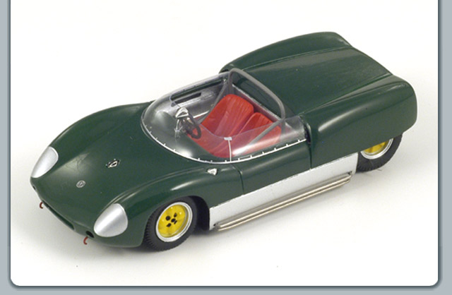 Spark: 1960 Lotus 19 - Green (S0260) in 1:43 scale