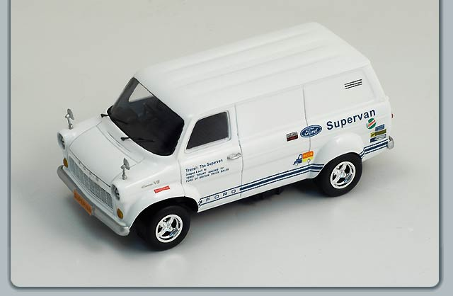 Spark: 1971 Ford Transit Supervan 1 (S0281) in 1:43 scale