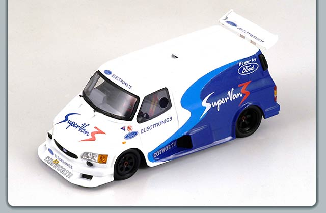 Spark: 1995 Ford Transit Supervan 3 (S0283) in 1:43 scale