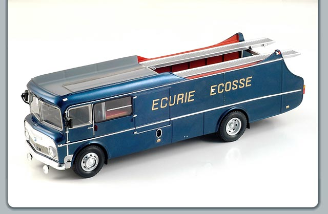Spark: 1959 Transporter Team Ecurie Ecosse (S0285) in 1:43 scale
