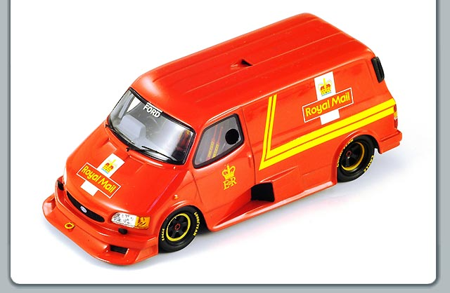 Spark: Ford Transit Supervan 3 Royal Mail (S0290) in 1:43 scale