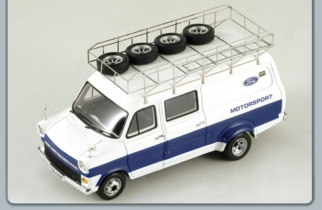 Spark: 1979 Ford Transit Ford Motorsport (S0292) in 1:43 scale
