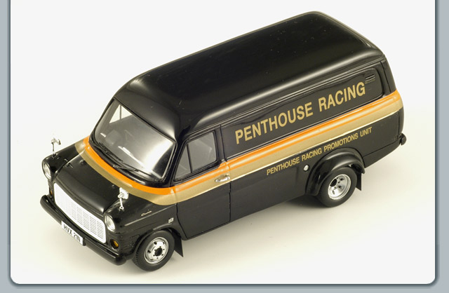 Spark: 1979 Ford Transit Penthouse Racing (S0294) im 1:43 maßstab
