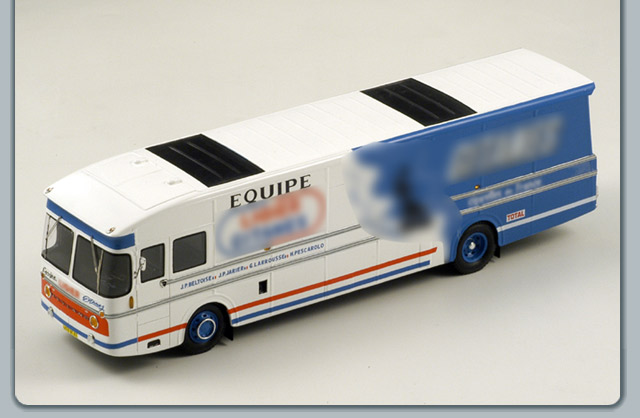 Spark: 1977 Ligier F1 Transporter (S0297) in 1:43 scale