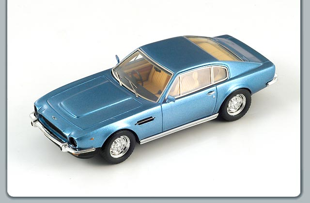 Spark: 1978 Aston Martin Oscar India - Light Blue Metallic (S0576) in 1:43 scale