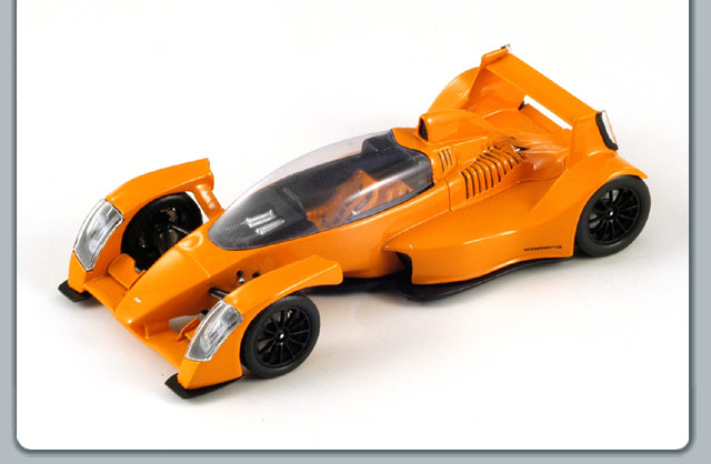 Spark: 2007 Caparo T1 - Orange (S0627) in 1:43 scale