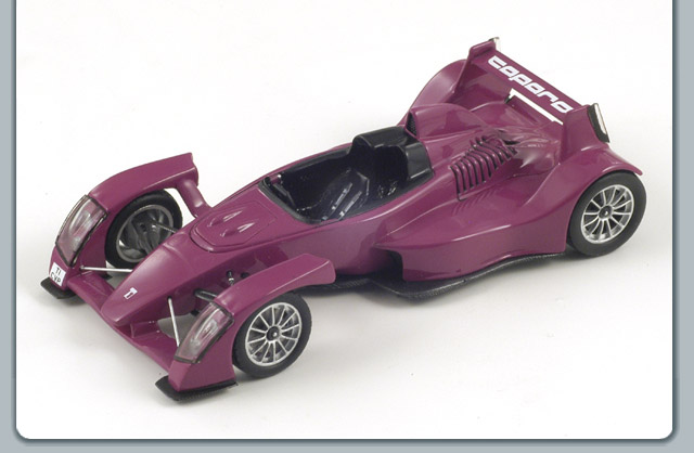 Spark: 2008 Caparo T1 - Open Purple (S0629) in 1:43 scale