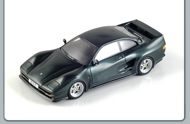 Spark: 1993 Lister Storm Road Car - Dark Green Metallic (S0630) in 1:43 scale