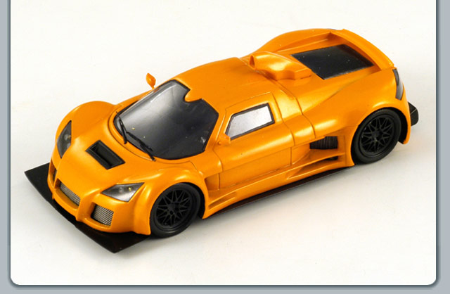Spark: 2006 Gumpert Apallo - Orange (S0668) im 1:43 maßstab