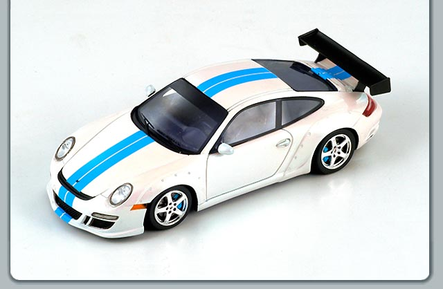 Spark: 2006 Ruf RGT - Pearl Silver (S0716) в 1:43 масштабе