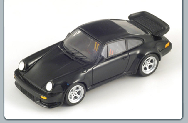 Spark: 1988 Ruf BRT - Black (S0725) in 1:43 scale