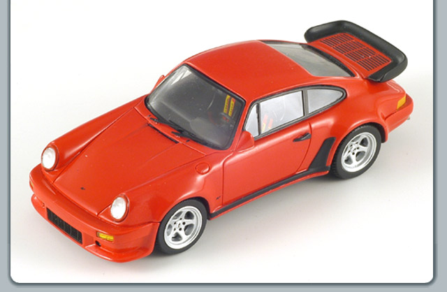 Spark: 1986 Ruf BTR - Red (S0726) in 1:43 scale
