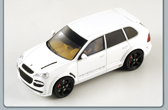 Spark: 2007 Gemballa GT500 - White (S0727) in 1:43 scale