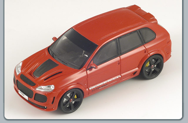 Spark: 2008 Gemballa GTS 700 Tornado - Red (S0733) in 1:43 scale