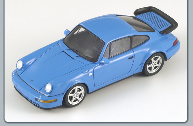 Spark: 1992 Ruf RCT Evo - Blue (S0735) in 1:43 scale