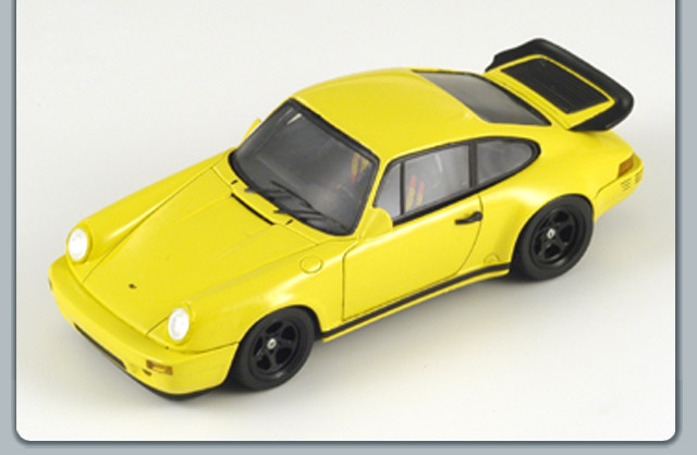Spark: 1987 Ruf CTR Sport - Yellow (S0738) in 1:43 scale