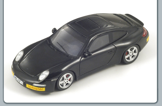 Spark: 2008 Ruf E-Ruf Concept Model A - Black (S0739) in 1:43 scale