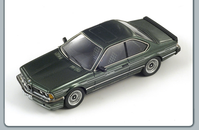 Spark: 1985 Alpina B7S Coupe Turbo - Green (S0743) im 1:43 maßstab