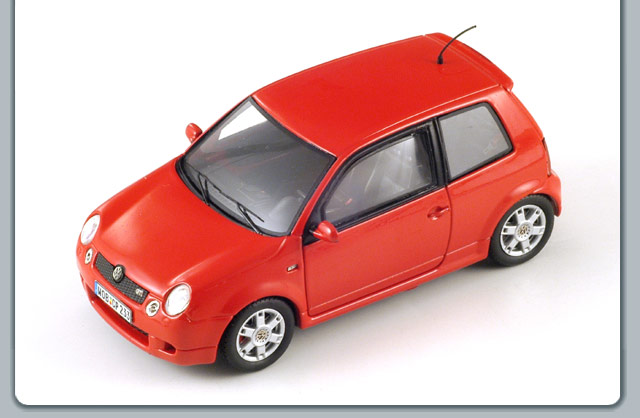 Spark: 2001 Volkswagen Lupo Gti - Red (S0841) in 1:43 scale