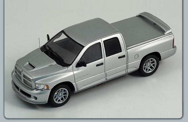 List Of Car Brands >> Spark: 2005 Dodge Ram SRT-10 Quad Cab - Silver (S0861) in 1:43 scale - mDiecast