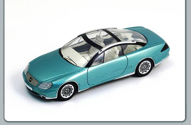 Spark: 1996 Mercedes-Benz F200 Concept (S1012) in 1:43 scale
