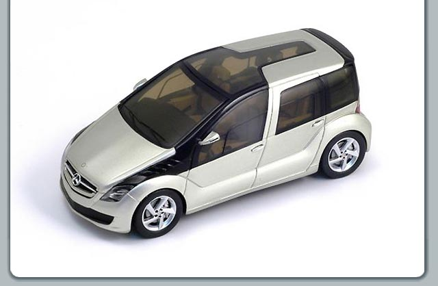 Spark: 2005 Mercedes-Benz F600 Concept (S1016) in 1:43 scale
