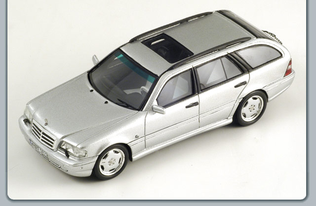Spark 1999 mercedes benz c43 amg station wagon silver for 1999 mercedes benz wagon