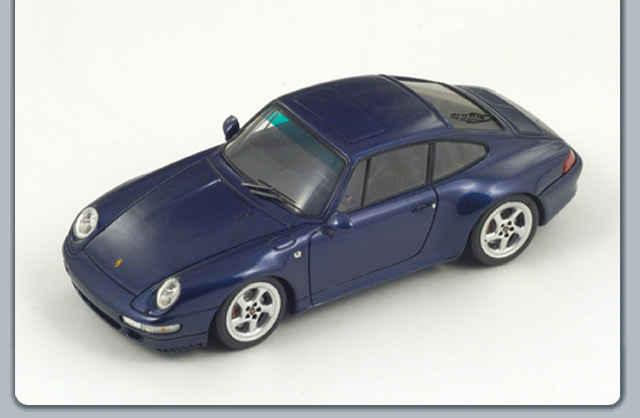 Spark: 1995 Porsche 911 (993) Carrra 4S - Blue (S2092) in 1:43 scale
