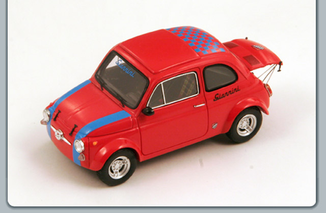 Spark: 1971 Fiat 590 Giannini - Red (S2695) im 1:43 maßstab